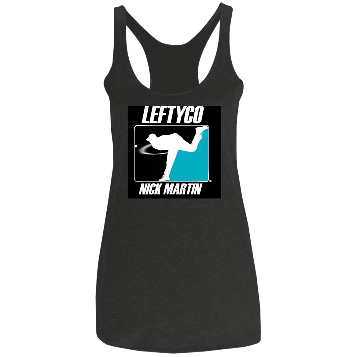 LeftyCo - 814 Ladies' Triblend Racerback Tank - leftyco
