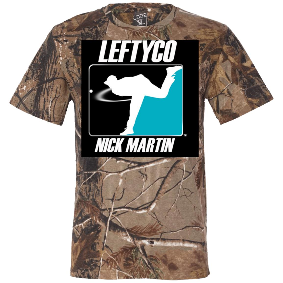 LeftyCo - 814 Short Sleeve Camouflage T-Shirt - leftyco