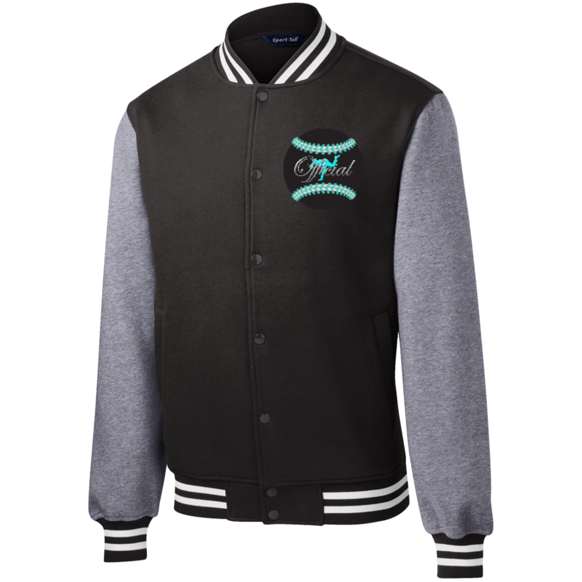 LeftyCo Fleece Letterman Jacket - leftyco