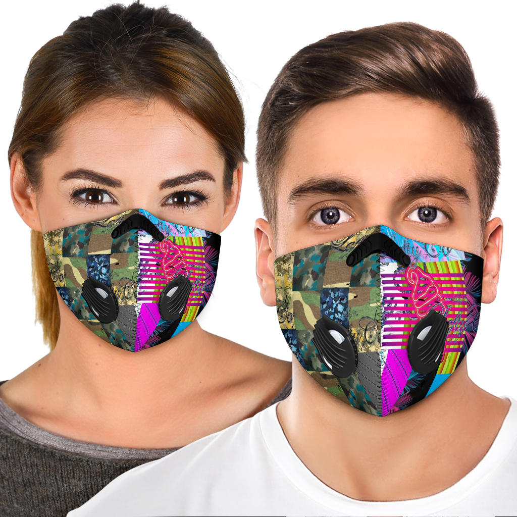 LeftyCo - 809 split camo facemask