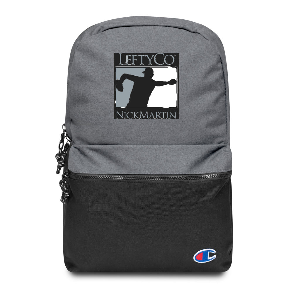 "LeftyCo - ""806"" Embroidered Champion Backpack"