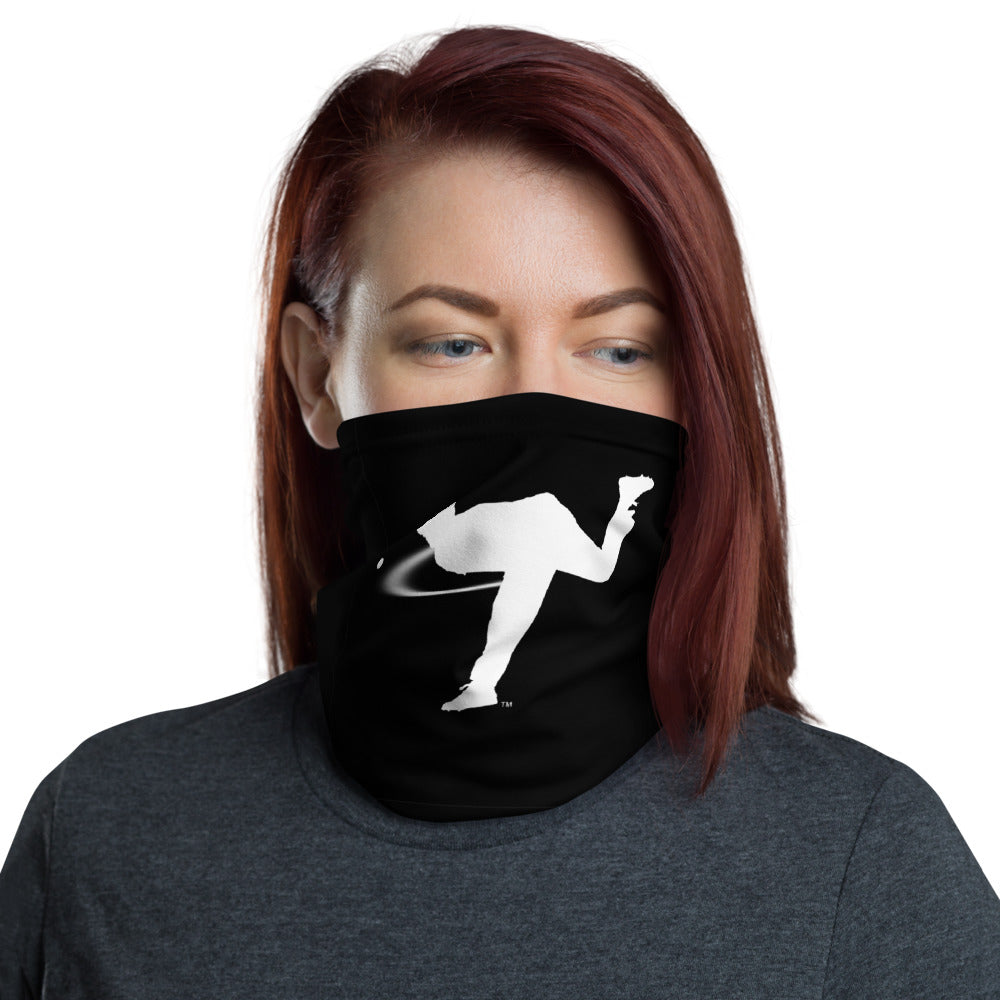 LeftyCo Black/Teal Neck Gaiter