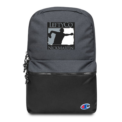 "LeftyCo - ""806"" Embroidered Champion Backpack - leftyco"
