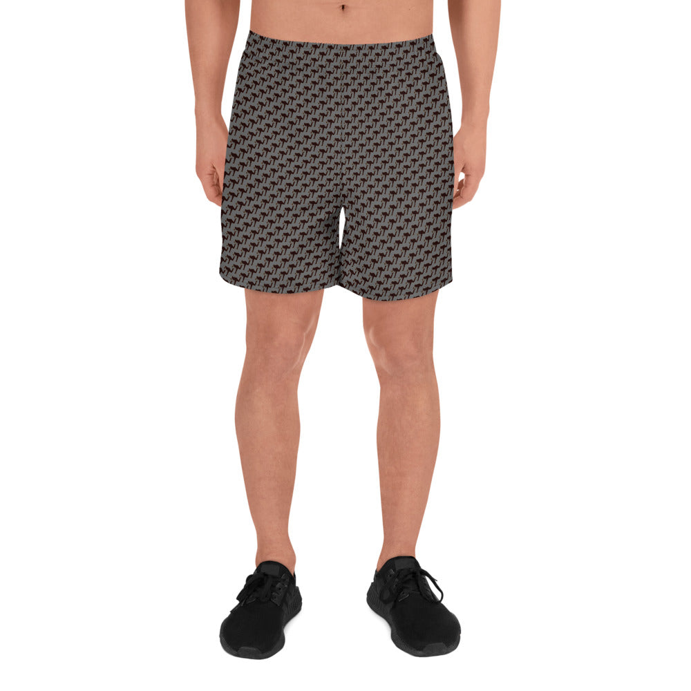 "LeftyCo - Men's Athletic Shorts ""Pattern'd"" - leftyco"