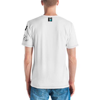 LeftyCo white/black Men's T-shirt - leftyco