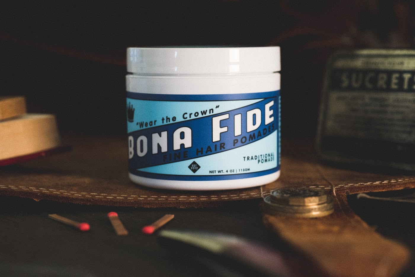 Product Spotlight: Traditional Pomade
