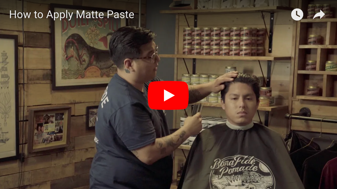 How to Apply Matte Paste