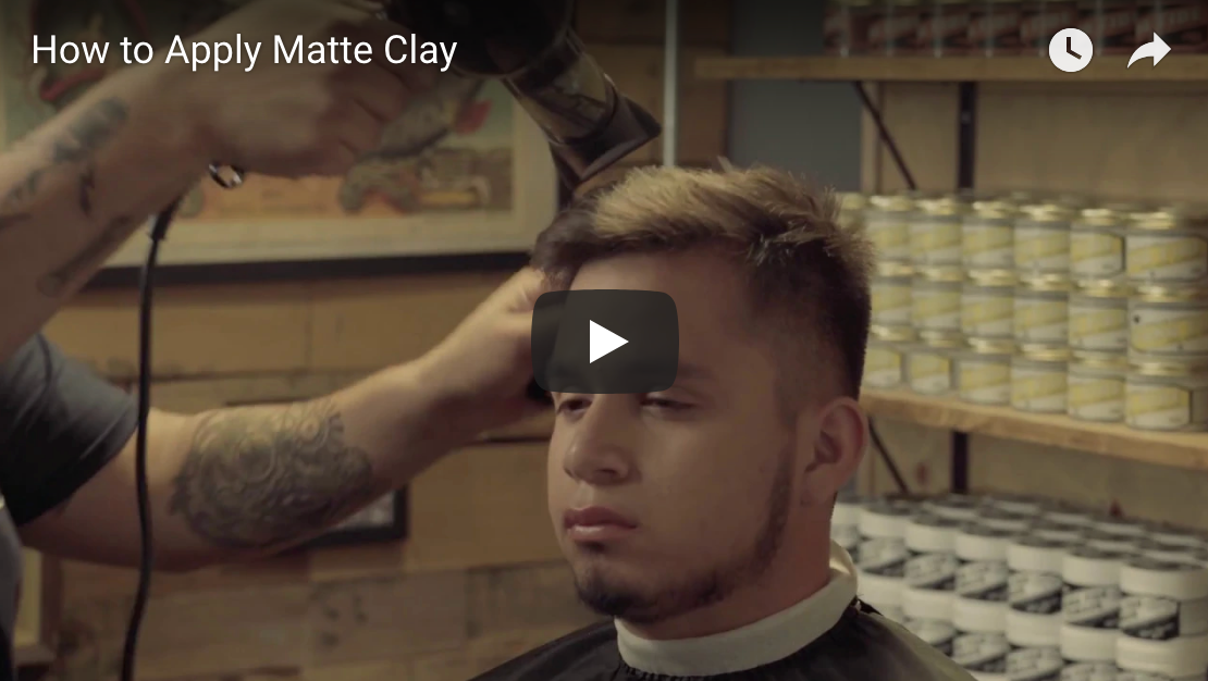 How to Apply Matte Clay