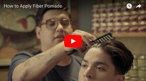 How to Apply Fiber Pomade