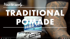 How to Apply Traditional Pomade