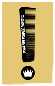 The Comb Poster, 11 x 17 inch