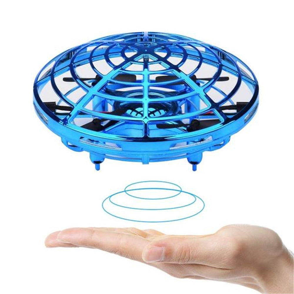 Hand-Operated Flying-Drone