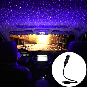 LED Car Roof Star Night Light Projector