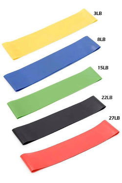 Mini Loop Resistance Bands - Set of 5 - PlayHard Fitness