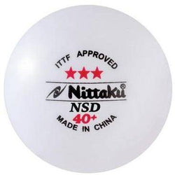 Table Tennis Ball - Nittaku NSD 40+ 3-Star - PlayHard Fitness