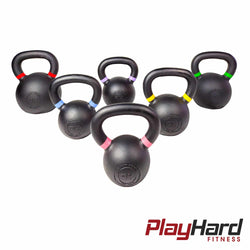 PlayHard Iron Cast Kettlebell - PlayHard Fitness