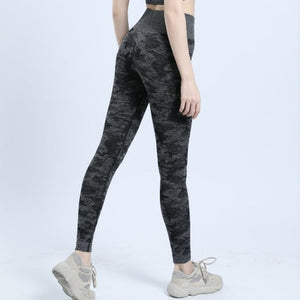 Camo womens seamless leggings Women Fitness Push Up Leggings Activewear