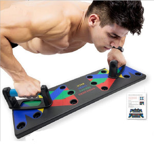 9 in 1 Push Up Board Exercise at Home Body Building fitness Equipment Workout Training for Men Women