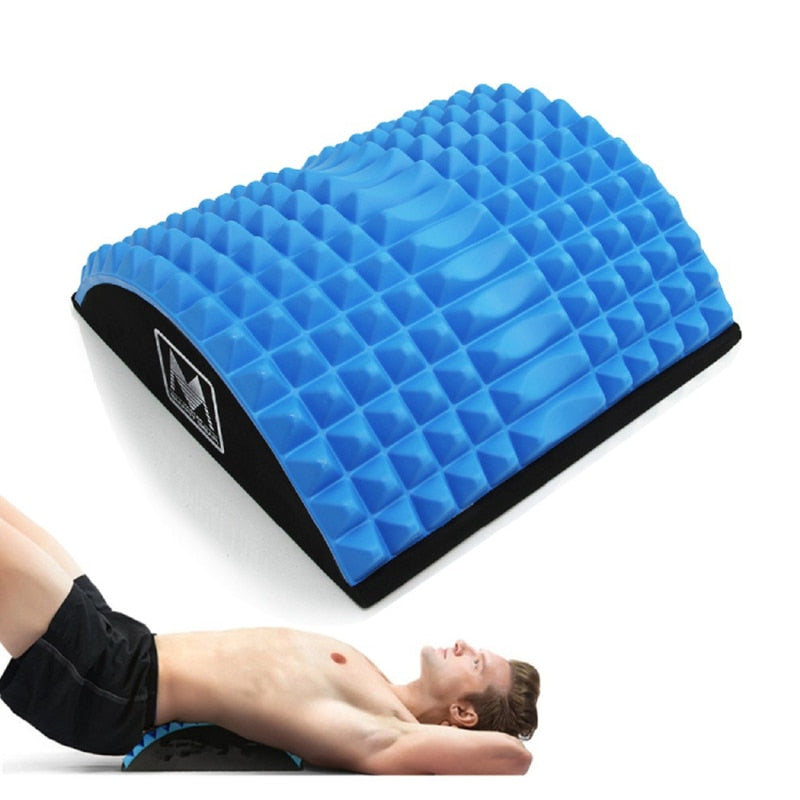 Abdominal core trainer massaging spikes for ab workouts back stretcher & back pain relief