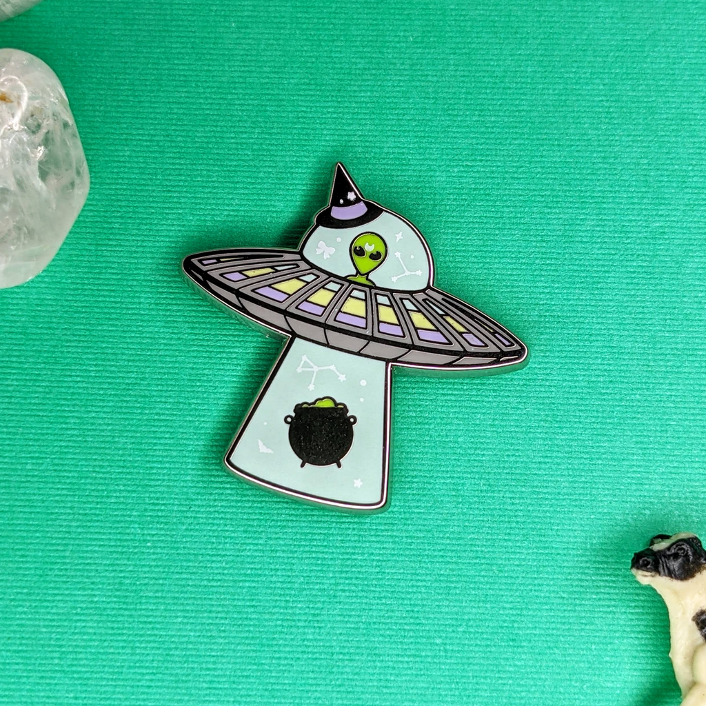 Space Witch Enamel Pin