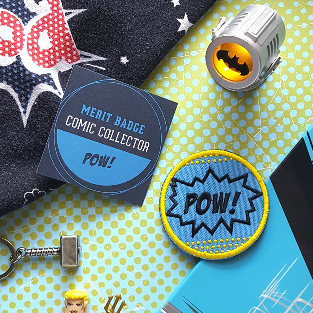 POW! Iron On Patch
