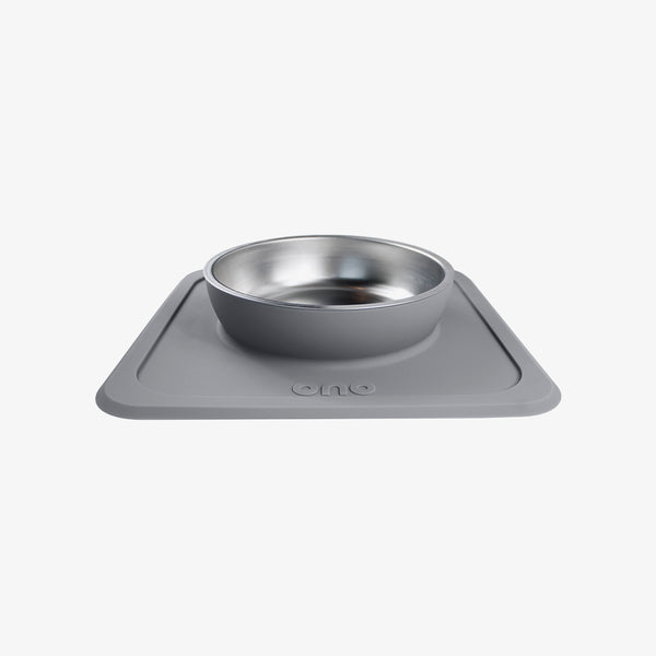 The Good Bowl (Single) / Self-Suctioning, Spill-Proof Silicone Pet Bowls by Ono