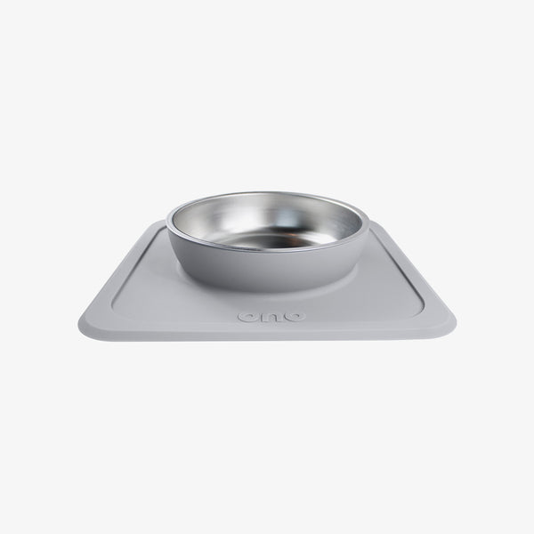 The Great Bowl (Single) / Self-Suctioning, Spill-Proof Silicone Pet Bowls by Ono