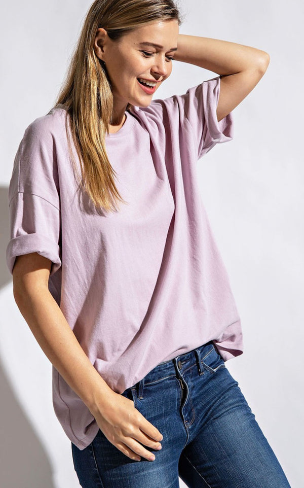 Rally T-Shirt | Dusty Lavender