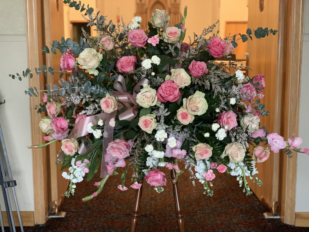 Large Rose Casket Spray - [product_type