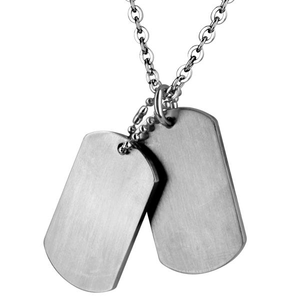 Cudworth Stainless Steel Double Dog Tag