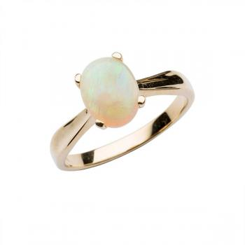 Firegem 9ct Solid Opal Ring