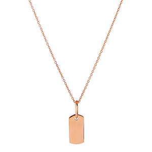 Najo Minerva Rose Gold Necklace 9kt