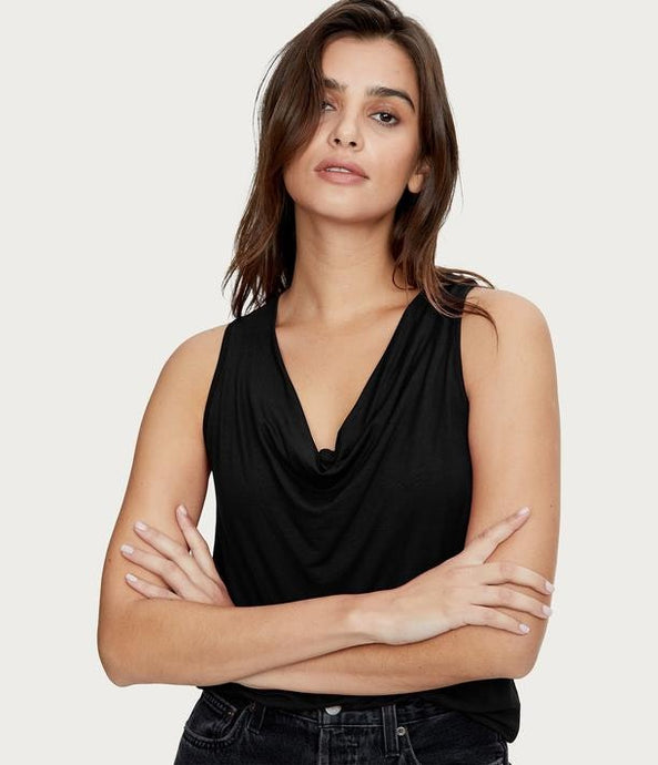 Michael Stars Eve Cowl Top