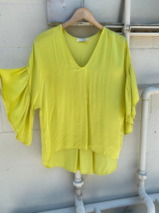 Lime Flutter Sleeve