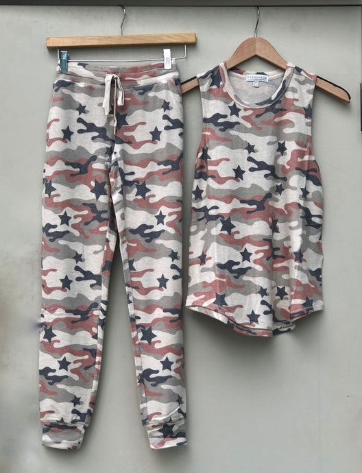 Camo Star PJ Set