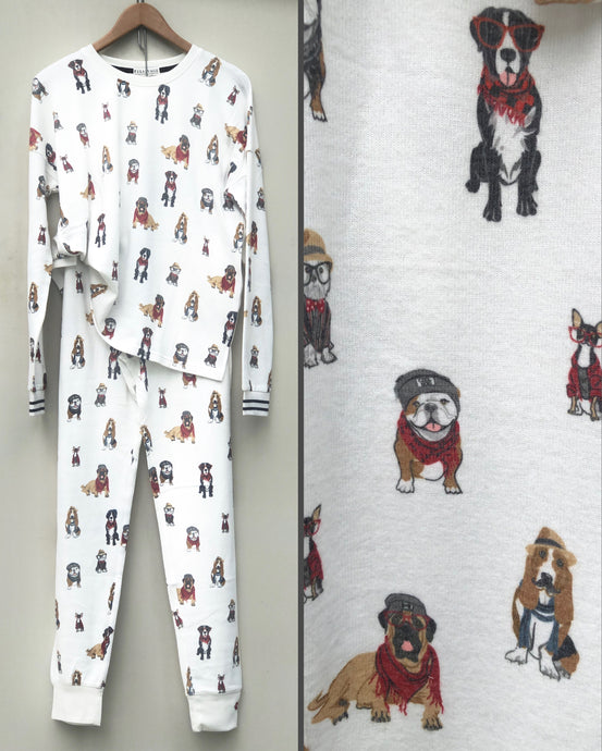 Hip Hound PJ Set