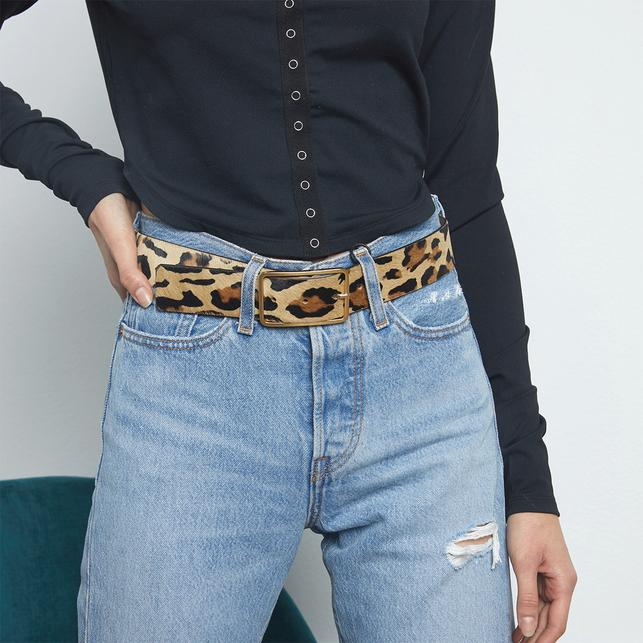 Milla Animal Print Belt