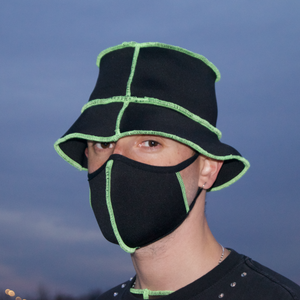 NEOPRENE FACE MASK - NEON