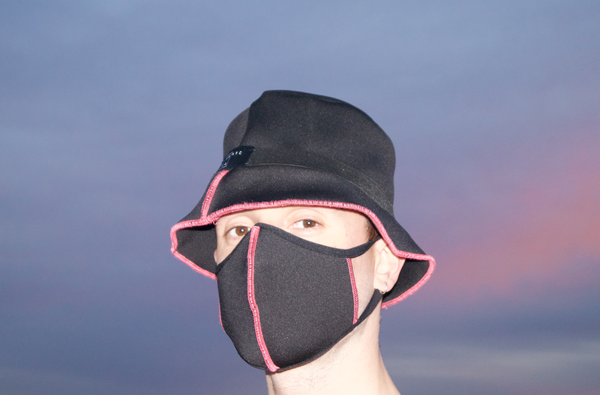 REVERSIBLE BUCKET HAT - PINK