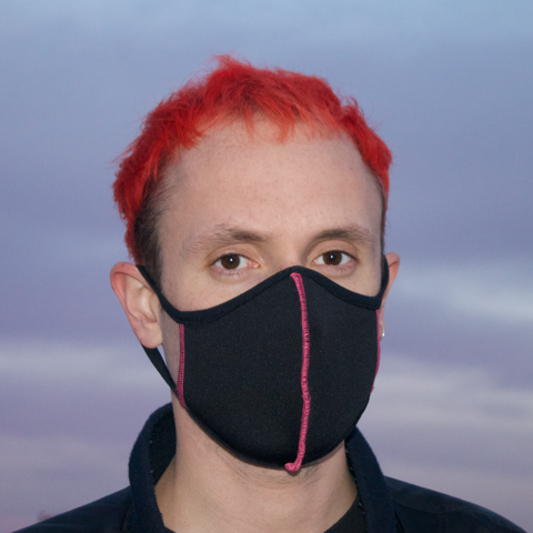 NEOPRENE FACE MASK - PINK