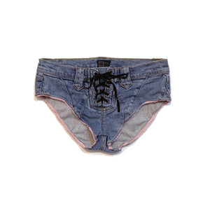 UPCYCLED JEAN SHORTS