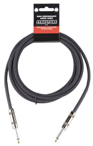 Strukture 10ft Instrument Cable, 6mm Rubber