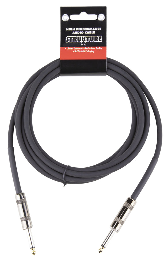 Strukture 10ft Instrument Cable, 6mm PVC