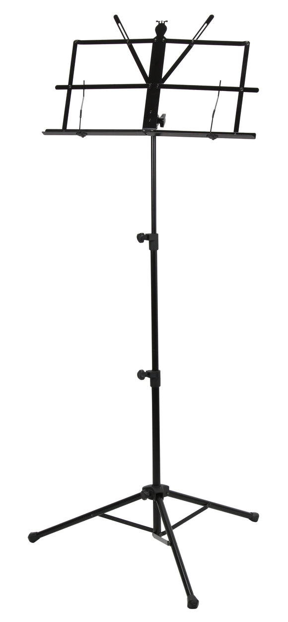 Deluxe 3-Part Folding Music Stand W/Bag