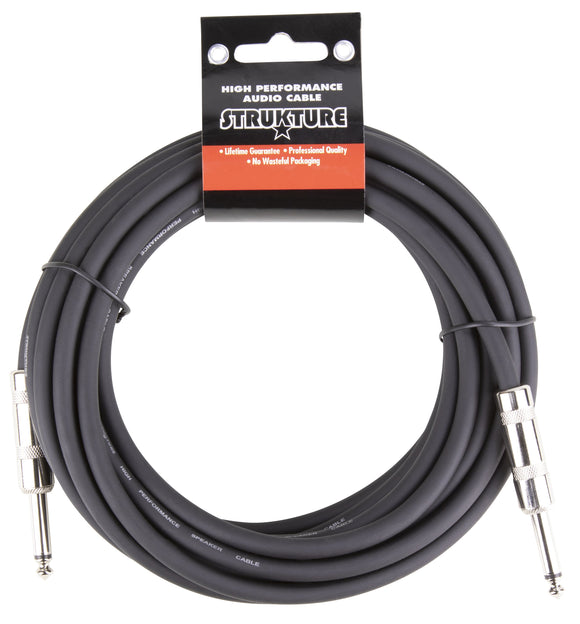 Strukture 20ft Speaker Cable, 16 gauge, 1/4