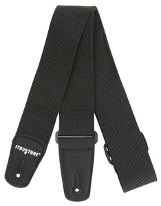 "Strukture 2"" Poly Guitar Strap With Nylon Tabs"