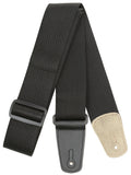 "Strukture 2"" Poly Guitar Strap With Leather Tabs"