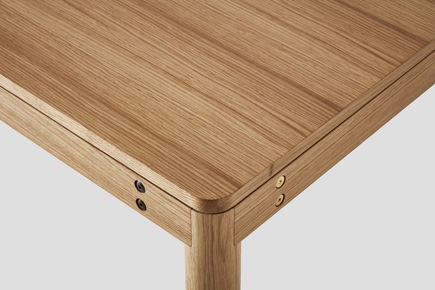 Wooden Dowel Table - Oak