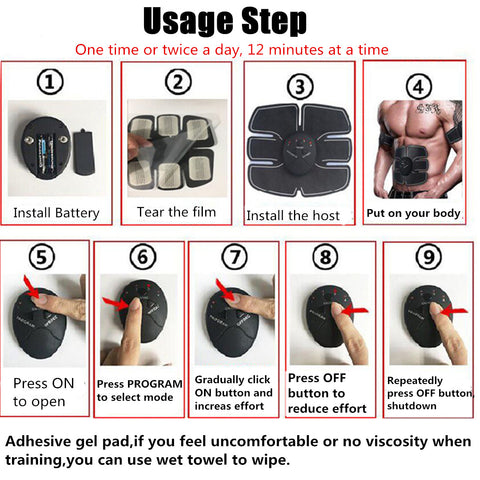 abs stimulator how to