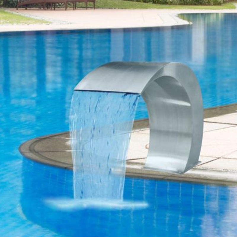 CASX™ Pool Fountain Stainless Steel Above Ground Pool Water Fountain
